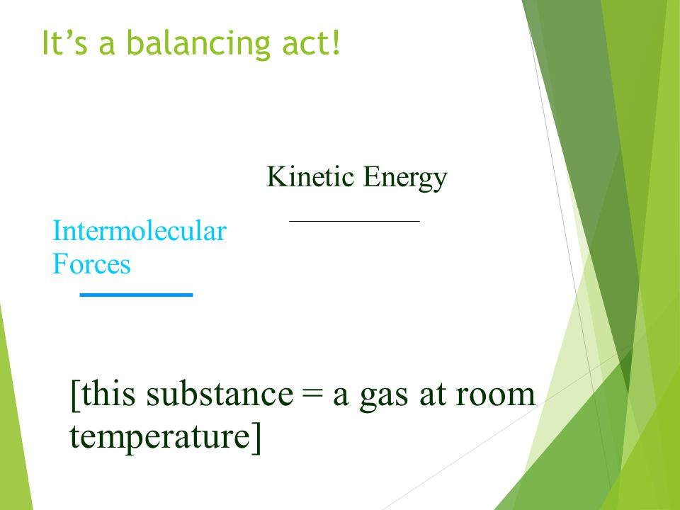[this substance = a gas at room temperature]